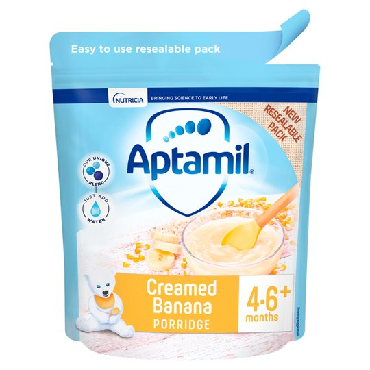Aptamil Creamed Banana - Baby Porridge 125g