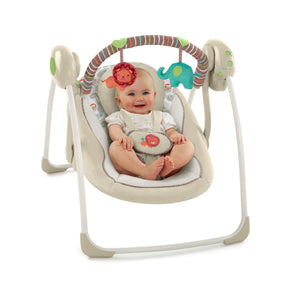 Ingenuity Soothe 'n Delight Portable Swing