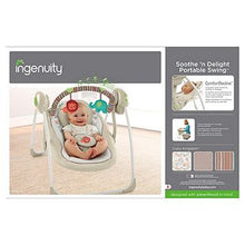 Load image into Gallery viewer, Ingenuity Soothe 'n Delight Portable Swing