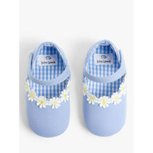 Load image into Gallery viewer, John Lewis & Partners Baby Daisy Sandal Shoes, Blue, 12-18 months