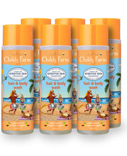 Load image into Gallery viewer, Child's Farm Hair & Body Sensitive Wash Watermelon Pineapple 250ml