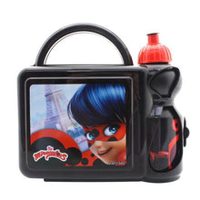 Load image into Gallery viewer, Miraculous Ladybug Lunch Box & Bottle Set