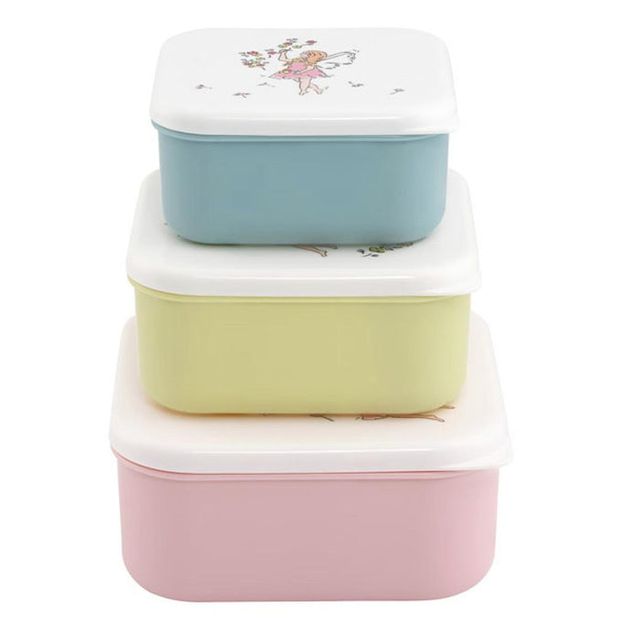 Garden Fairies Set of 3 Snack Boxes