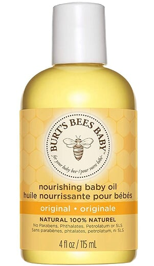 Burt's Bees Baby Nourishing Baby Oil -115ml