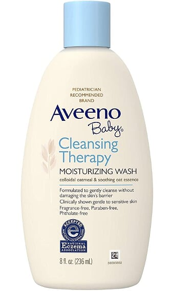 Aveeno Baby Cleansing Therapy Moisturising Wash