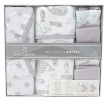 Load image into Gallery viewer, Swaddle Me Bath to Bed Gift Set