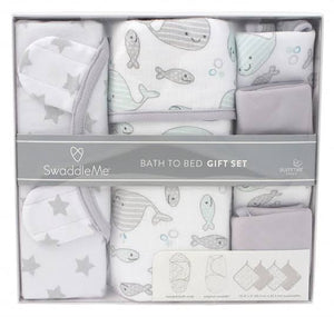 Swaddle Me Bath to Bed Gift Set