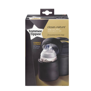 Tommee Tippee Insulated Bottle Bags - 2 pack