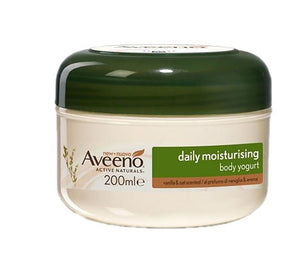 Aveeno Daily Moisturising Body Yogurt - Vanilla and Oat 200ml