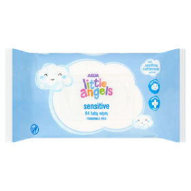 Little Angels Sensitive Baby 64 Wipes