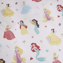 Load image into Gallery viewer, Disney Princess Duvet Cover,Pillow Case and Fitted Sheet Set