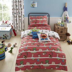 Disney Toy Story Duvet Cover,Pillow Case and Fitted Sheet Set