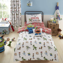 Load image into Gallery viewer, Disney Toy Story Duvet Cover,Pillow Case and Fitted Sheet Set