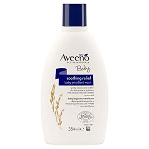 Aveeno Baby Soothing Relief Emollient Wash, 354 ml
