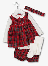 Load image into Gallery viewer, Tu Baby Red 5 Pack With Tights