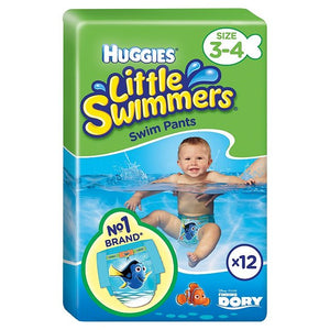 Huggies Little Swimmers Size 3 - 4 Swim Nappies 12 per pack