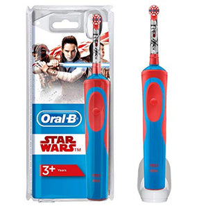 Oral-B Kids Electric Children's Toothbrush, for children from 3 years, in Star Wars Design