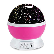 Load image into Gallery viewer, Sentik Night Rotating Projection Lamp for Children Bedroom