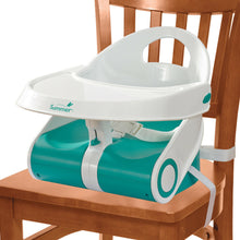 Load image into Gallery viewer, Summer Infant Sit N Style Booster Seat-Teal/White