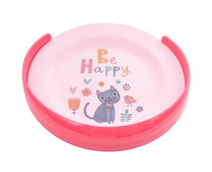 Mycey Training Suction Plate with Removable Curved Rim