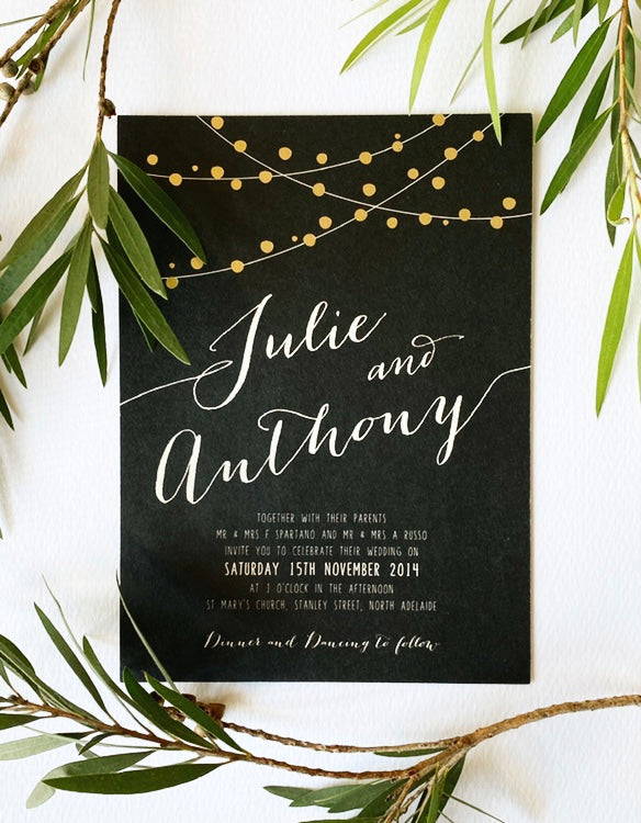 Load image into Gallery viewer, Fairy Lights in Hot Foil