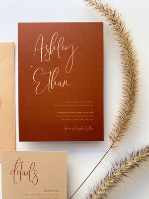 Load image into Gallery viewer, Ashley's Calligraphy in Earthy Tones