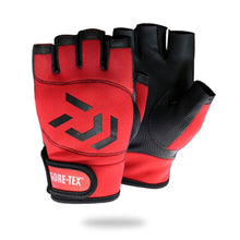 Load image into Gallery viewer, Daiwa Outdoor 5 Fingers Cut Fishing Gloves Waterproof Fishing Accessories