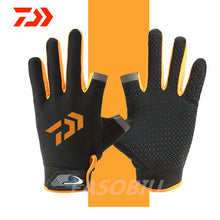 Load image into Gallery viewer, 2020 New Daiwa 3 Fingers Cut Outdoor Sport Gloves
