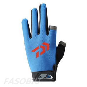 2020 New Daiwa 3 Fingers Cut Outdoor Sport Gloves