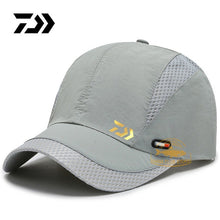 Load image into Gallery viewer, DAIWA Fishing Sun Hat 2020 Summer New Outdoor Sports Quick-drying Mesh Baseball Cap