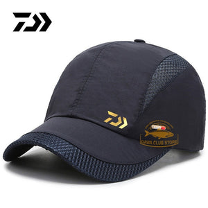 DAIWA Fishing Sun Hat 2020 Summer New Outdoor Sports Quick-drying Mesh Baseball Cap