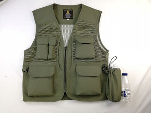 Summer Water-proof Fishing Vest