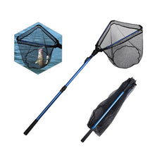Load image into Gallery viewer, 102cm 165cm Folding Fishing Net  Alloy Triangular Landing Net