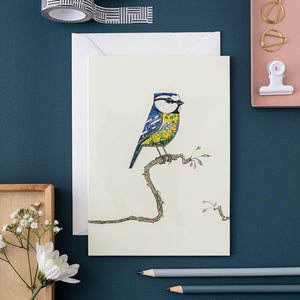 Bluetit - Card - The DM Collection
