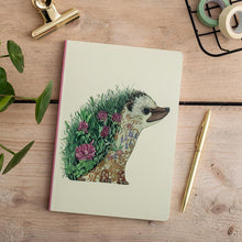 Load image into Gallery viewer, Perfect Bound Notebook - Hedgehog - The DM Collection