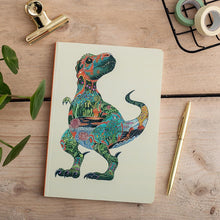 Load image into Gallery viewer, Perfect Bound Notebook - Tyrannosaurus Rex - The DM Collection