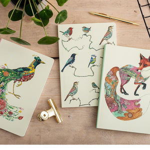 Perfect Bound Notebook - Songbirds - The DM Collection