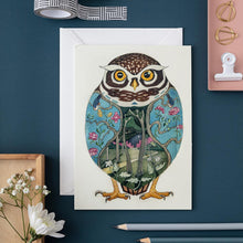 Load image into Gallery viewer, Little Owl - Card - The DM Collection