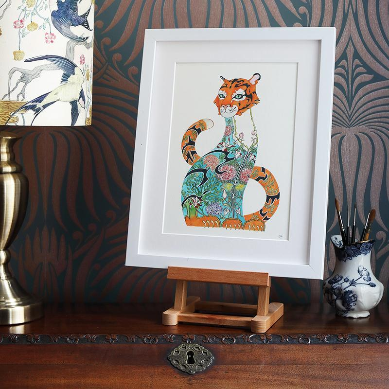 Tiger in the Jungle - Print - The DM Collection