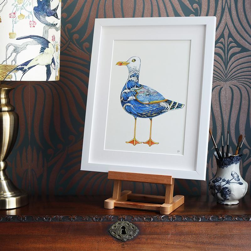 Seagull  - Print - The DM Collection