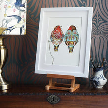 Load image into Gallery viewer, Two Robins  - Print - The DM Collection