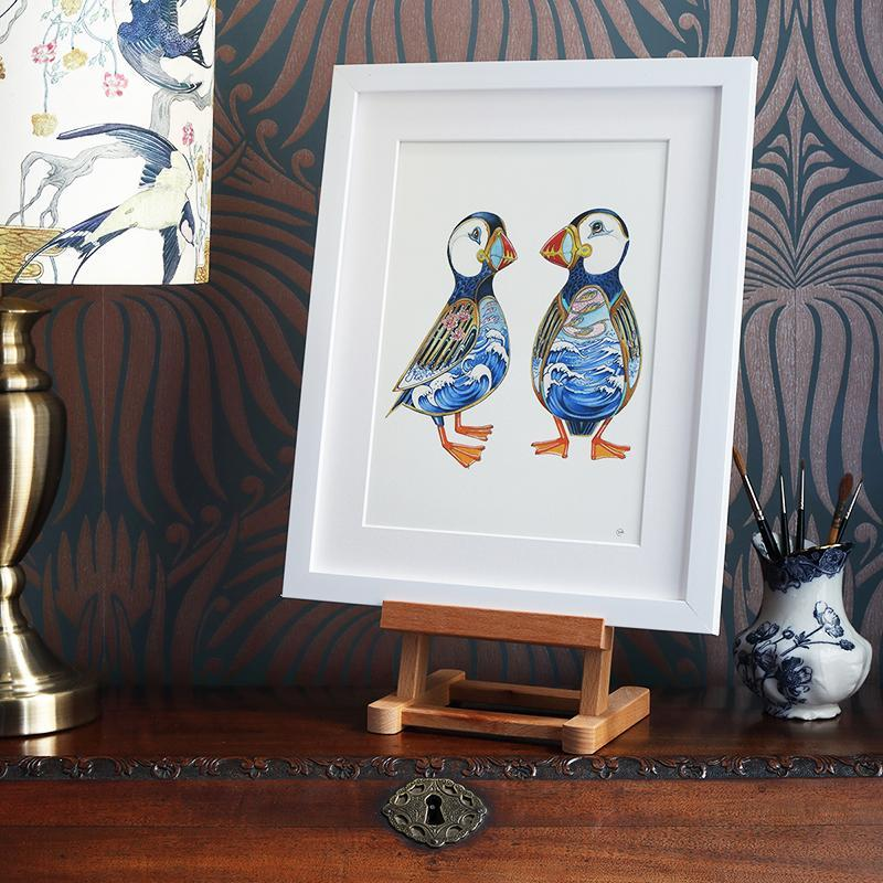 Puffins - Print - The DM Collection