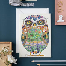 Load image into Gallery viewer, Owl in the Forest - Card - The DM Collection