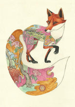 Load image into Gallery viewer, Red Fox - Print - The DM Collection