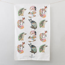 Load image into Gallery viewer, Tea Towel - Woodland - The DM Collection