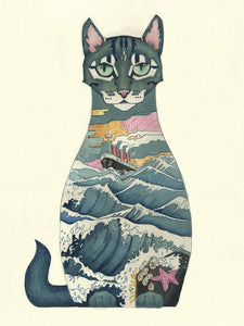 Ship's Cat - Print - The DM Collection