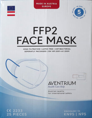 FFP2 Masken - MADE IN AUSTRIA >> 20 Kartons