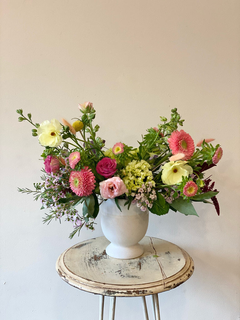 Spring Vibes - Garden Inspired Vased Arrangement