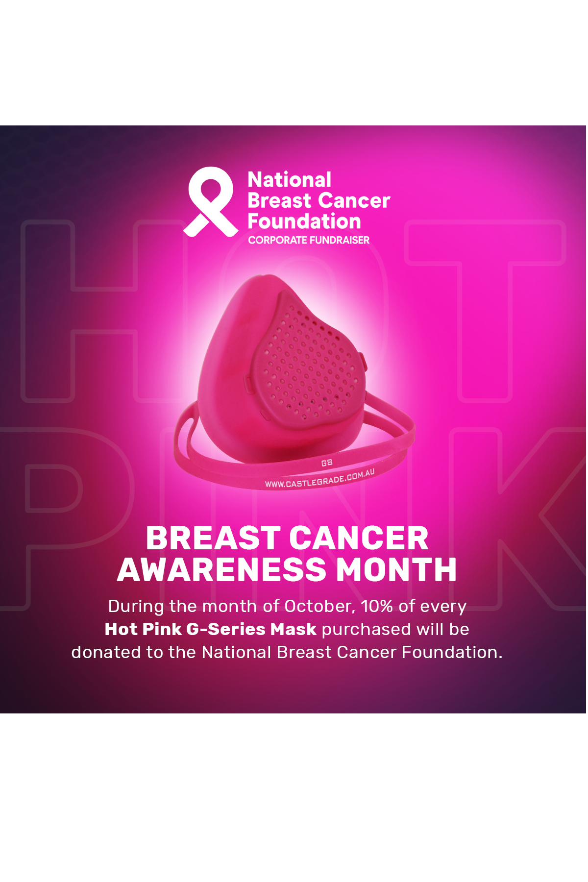 Buy Pink to support Breast Cancer Research this month!