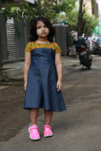 Load image into Gallery viewer, Agaram Denim Frock